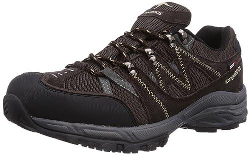KangaROOS K-Outdoor 7040 - zapatillas de trekking y senderismo de material sintético hombre, color marrón, talla 46: Amazon.es: Zapatos y complementos