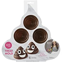 Wilton Rosanna Pansino Silicone Poop Swirl Treat Mold 6-Cavity Deals