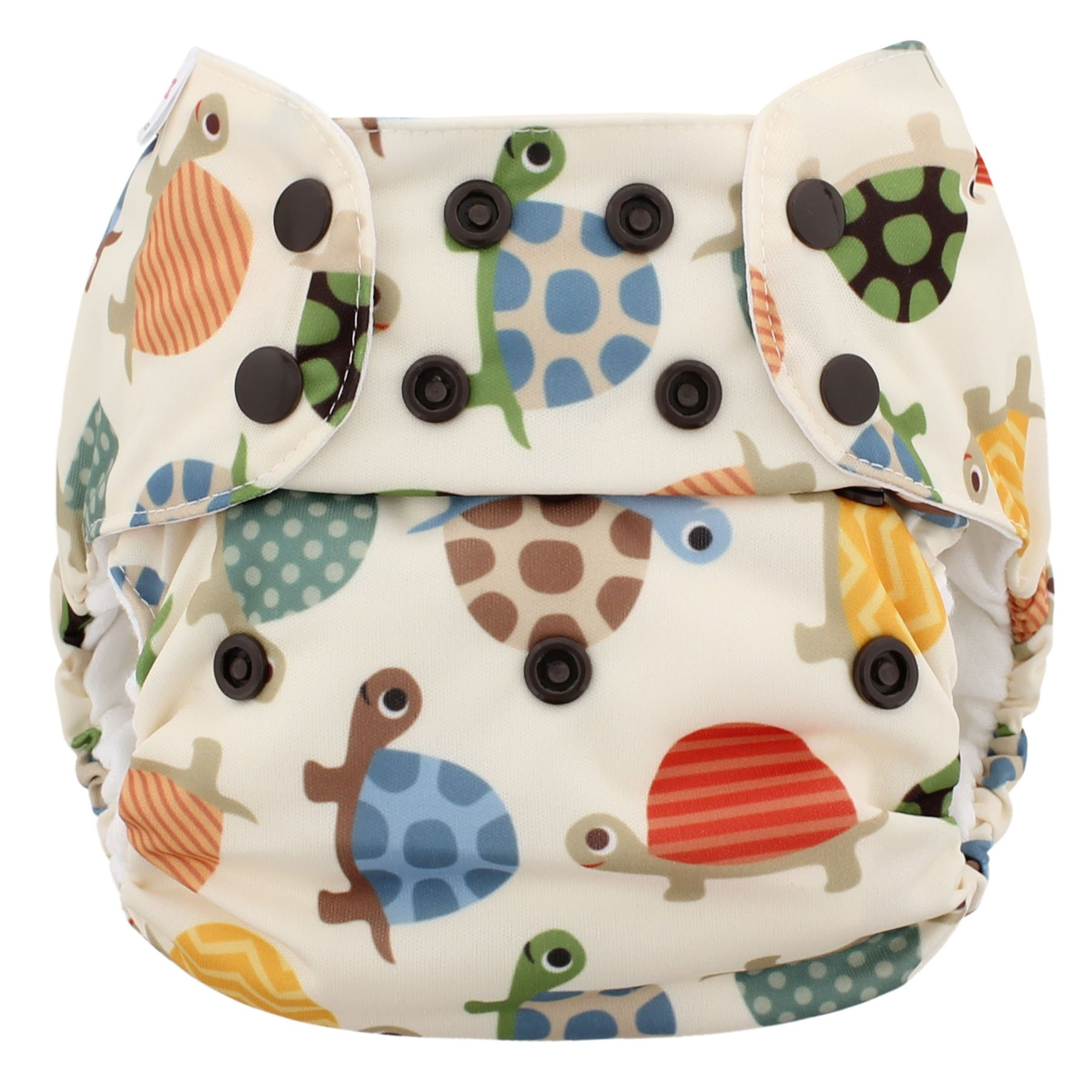 Blueberry One Size Simplex All In One Cloth Diapers, Made in USA (Turtles)