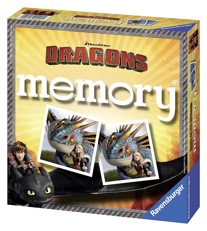 Dragons memory Ravensburger Spielverlag 21118 0 empfohlenes Alter Ravensburger 21118 ab 4 Jahre Frühe Kindheit