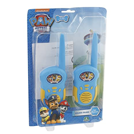 Talkie Preziosi Personalizzati Patrol it Paw Giochi Walkie Amazon 1Uxqa1If