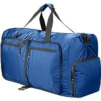 Sailnovo Leichter Faltbare 85L Reise-Gepäck Duffel Taschen weekender Übernachtung Taschen Sporttasche für Sport Reisen Gym Urlaub
