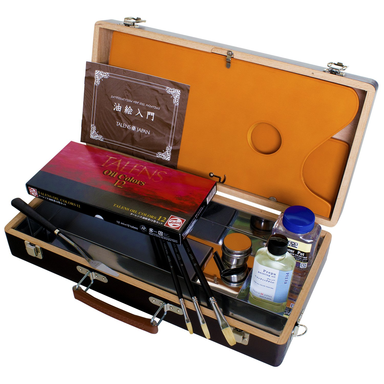 ターレンス 油絵具木箱セット AN   B06XT1QWQZ