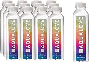 Aqualove Alkaline water infused for alkaalinity 9-10pH , 12 x 500ml