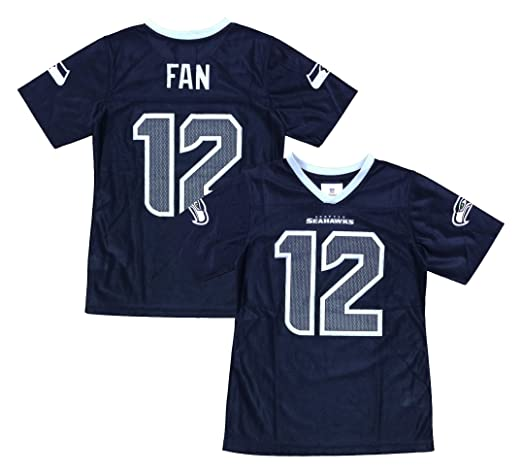 Outerstuff Seattle Seahawks Logo  00 Pink Dazzle Girls Youth Jersey cb8a3659d