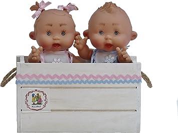 Amazon.es: Nines Artesanals dOnil- Pareja de Bebes en Caja de ...