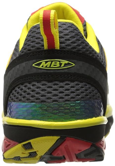 MBT Jengo Sport Neutral M, Zapatillas de Deporte para Hombre, Varios Colores (Neored/White), 42 EU