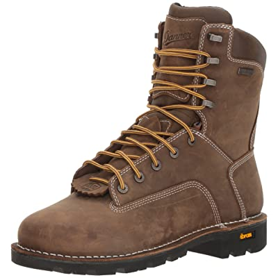 "Danner Men's Gritstone 8"" Brown Work Boot 
