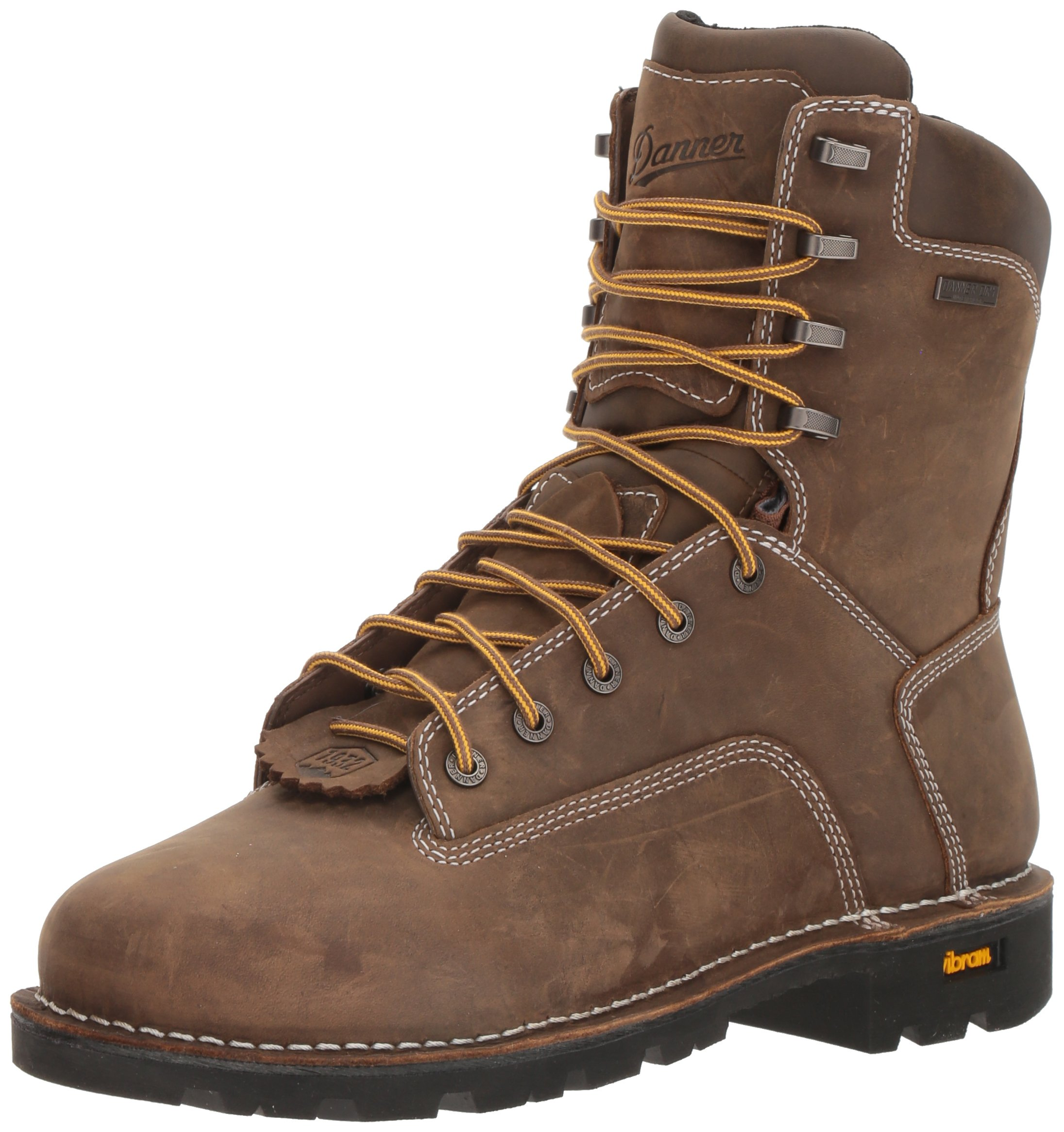 Danner Men's Gritstone 8'' Brown Work Boot, 12 2E US by Danner