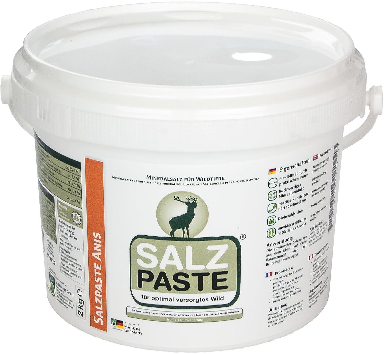 EUROHUNT Pasta de sal 2 kg Cubo Anís Producto atrayente Imán de corzo 590222