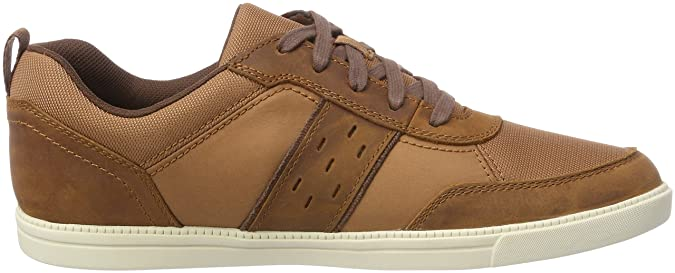 Timberland Fulk, Zapatos de Cordones Oxford para Hombre, Marrón (Glazed Ginger Saddleback 358), 44.5 EU