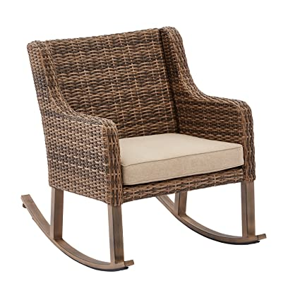 Amazon Com Hawthorne Park Outdoor Rocking Chair Better Homes And