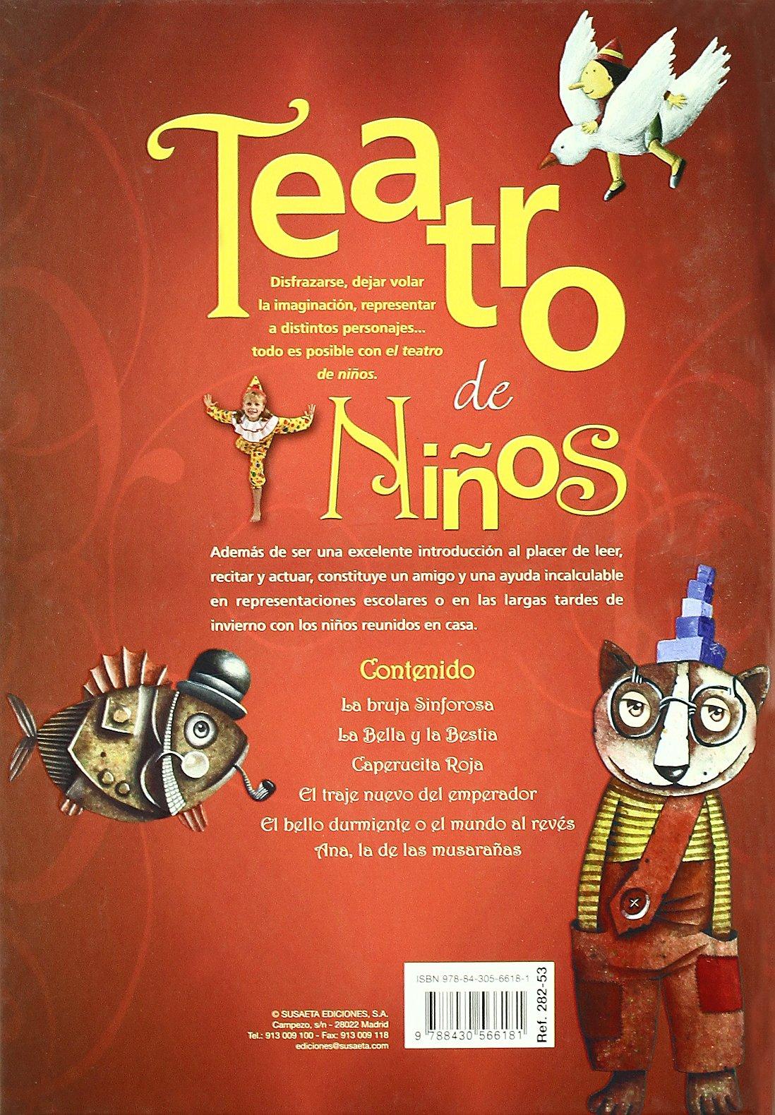 Teatro de niños: S-282-53: 9788430566181: Amazon.com: Books