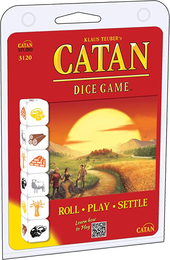 Mayfair Games mfg03120 – Tabla de Juegos, Catan Dice Clamshell Edition: Amazon.es: Juguetes y juegos