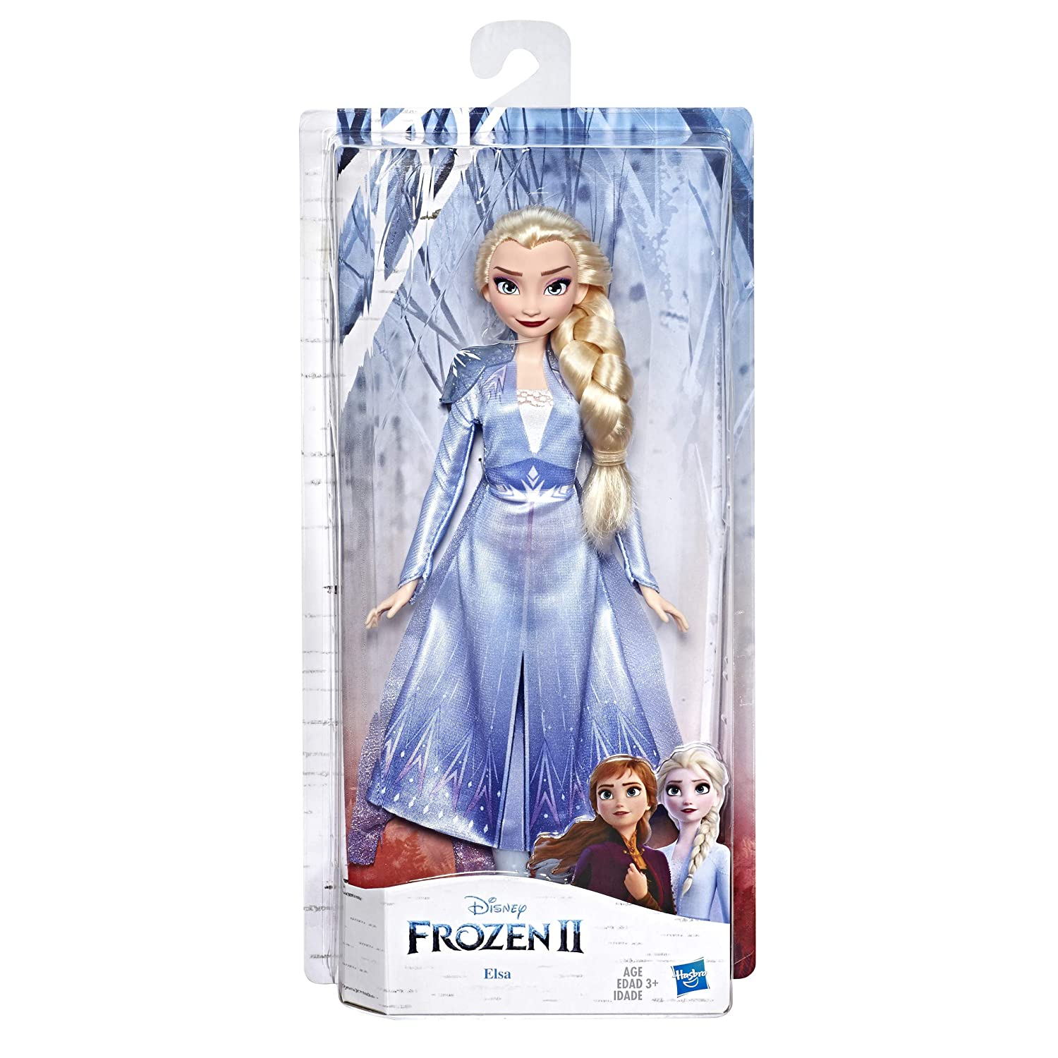 Disney Frozen Elsa Fashion Doll with Long Blonde Hair & Blue Outfit Inspired by Frozen 2 - Toy for Kids 3 Years Old & Up