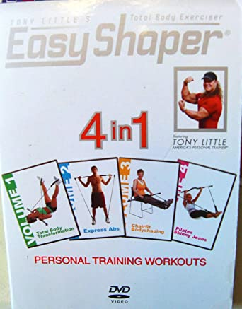 Easy Shaper: Tony Littles 4 in 1 Personal Training Workouts
