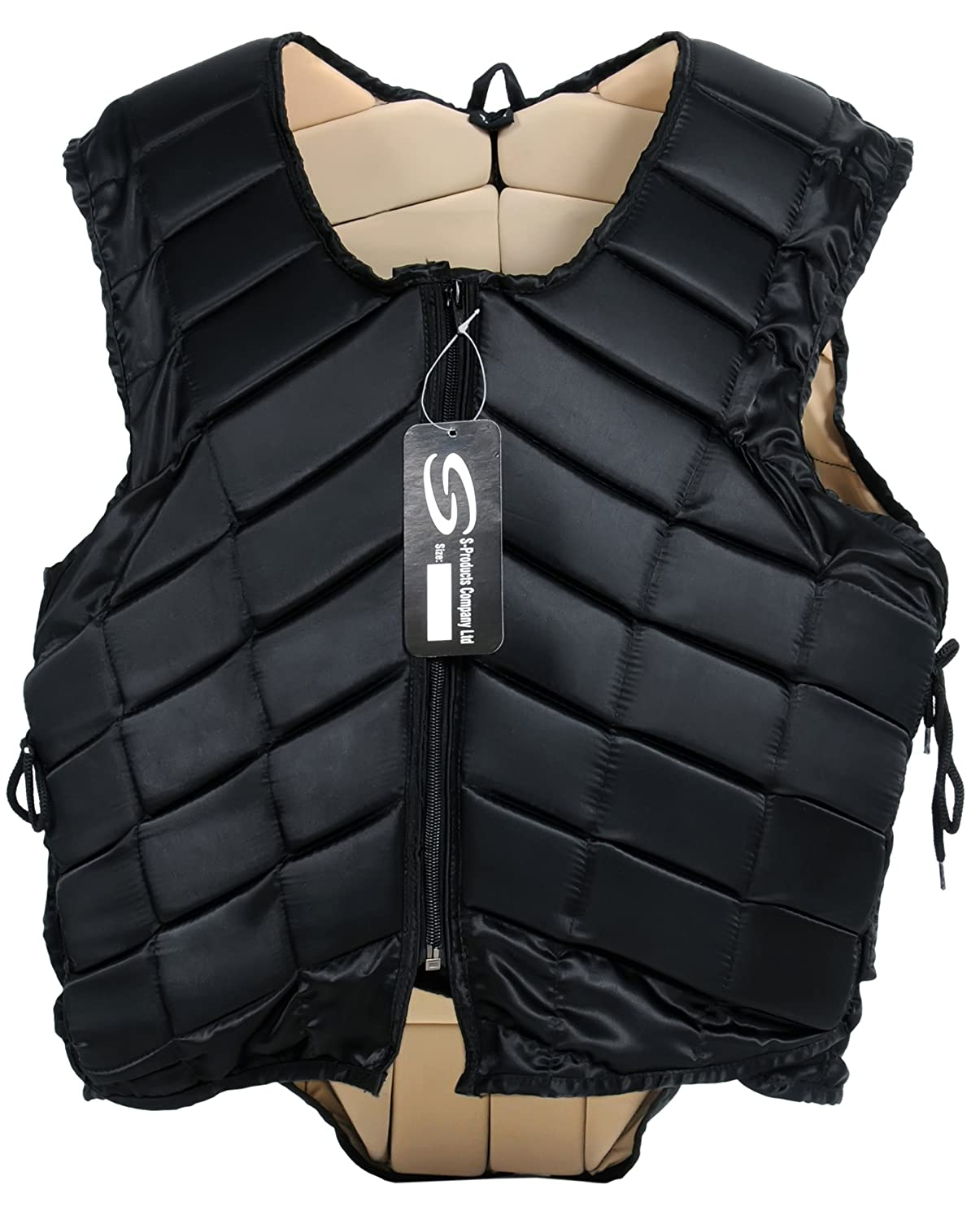 ADULT HORSE RIDING BODY PROTECTOR WITH ADJUSTABLE SIDE LACES S-Products