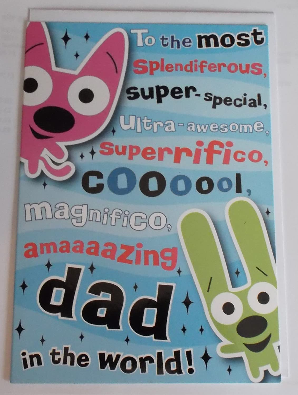 Aros & Yoyo - Tarjeta de felicitación para el día del padre ...