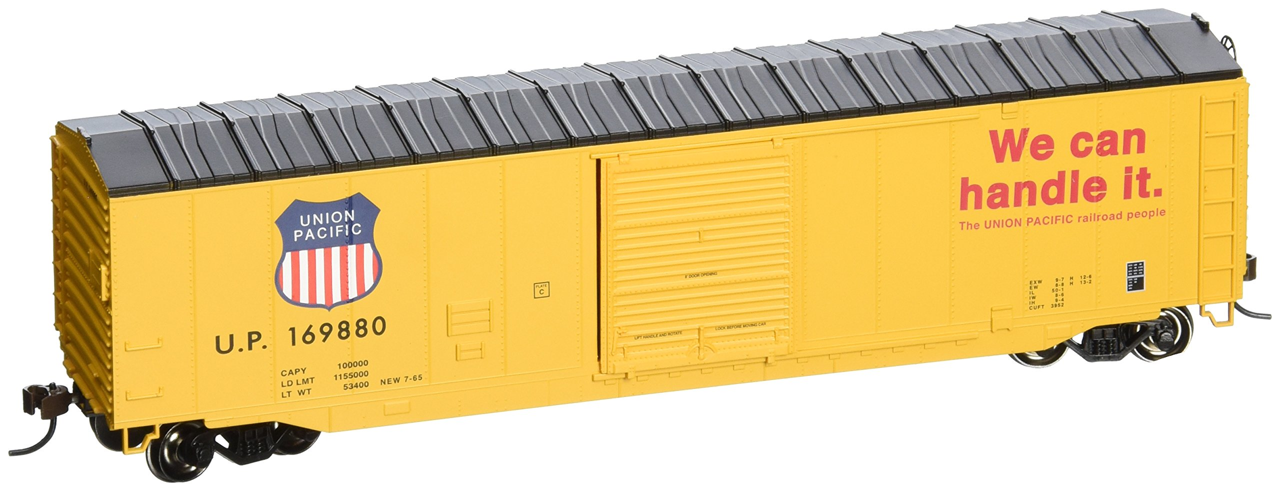 Bachmann Trains 50' Sliding Door Box Car Union Pacific by Bachmann Trains