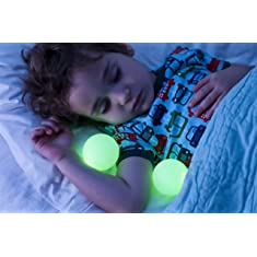 Boon Glo Nightlight with Portable Balls,White