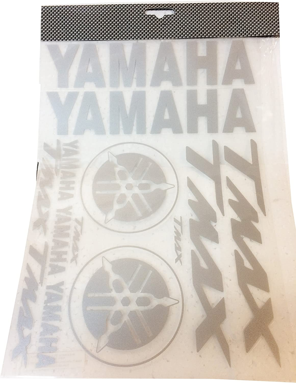 Kit de adhesivos Yamaha T-Max precortados grises