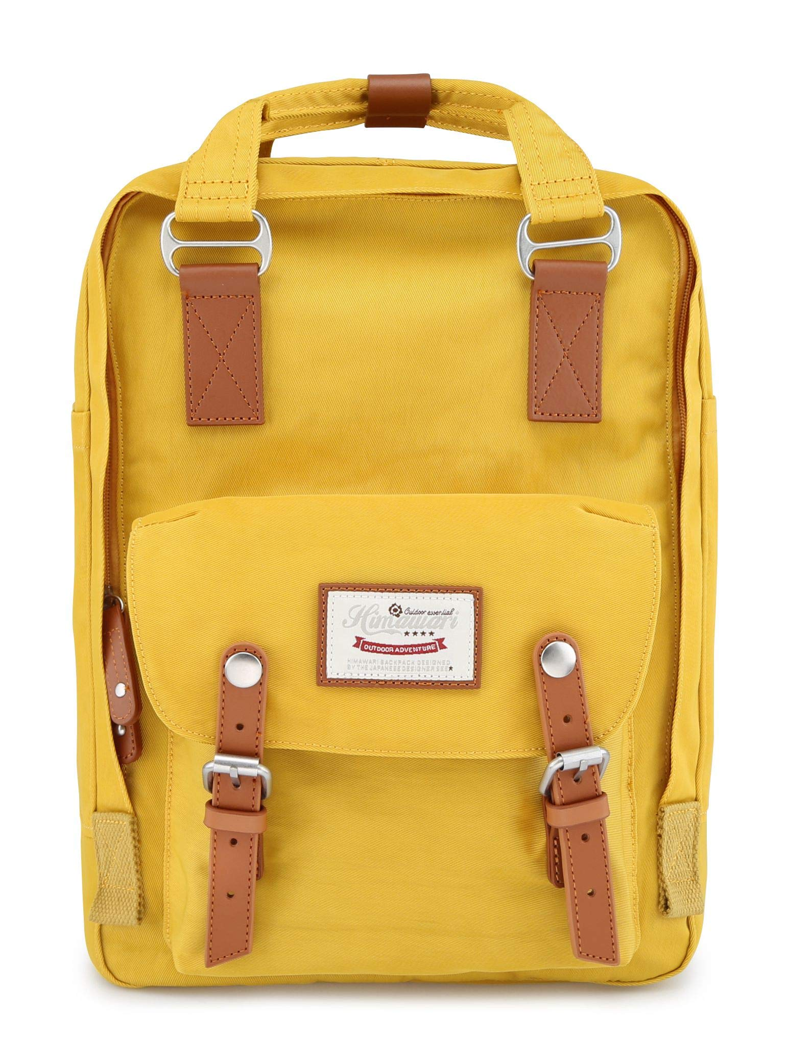himawari 15 Inch School Travel Backpack for Women Men Waterproof 14 inch Laptop Compartment Bag for College (HIM-49#) by himawari