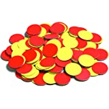 Learning Advantage 7210 Magnetic Counters, Grade: Kindergarten, Two Color (Pack of 200)