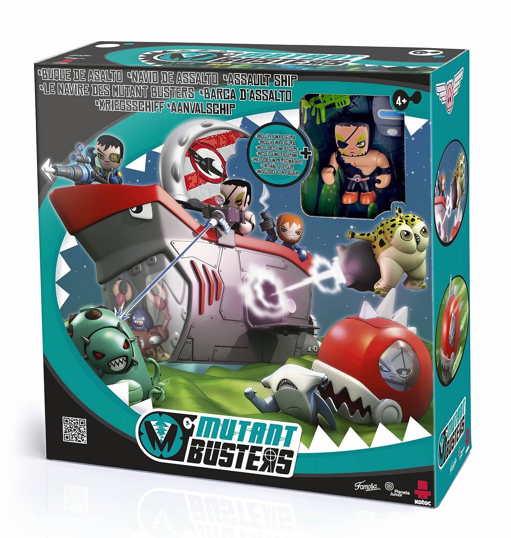 Mutant Busters Buque de Asalto, juguete de acción y figura (Famosa 700012861)