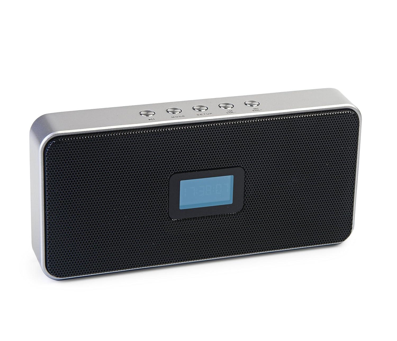 Jumbl - Radio despertador con radio (incluye ranura para ...