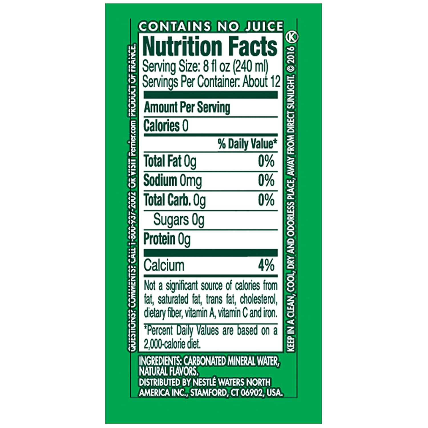 Perrier Nutrition Facts Lime Nutrition Ftempo