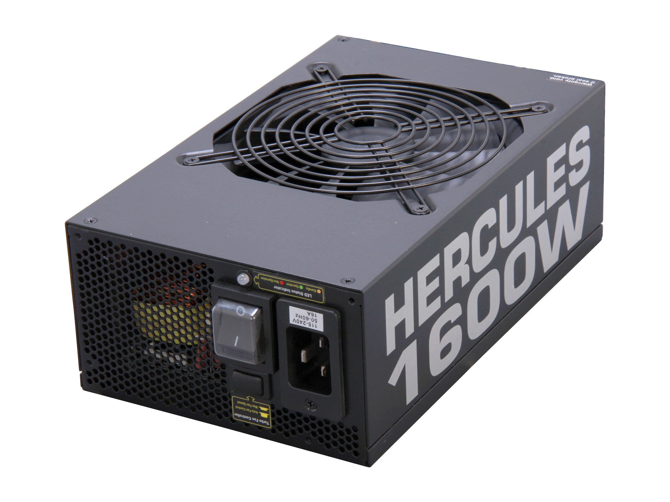 Rosewill 1600-Watt Intel Haswell Ready 80 Plus Silver Modular Gaming Power Supply ATX12V HERCULES-1600S by Rosewill
