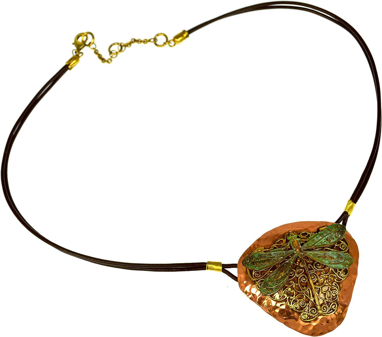 Patina Copper Dystopian Necklace
