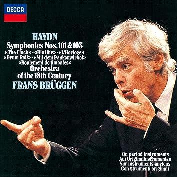 ハイドン:交響曲第101番「時計」、第103番「太鼓連打」