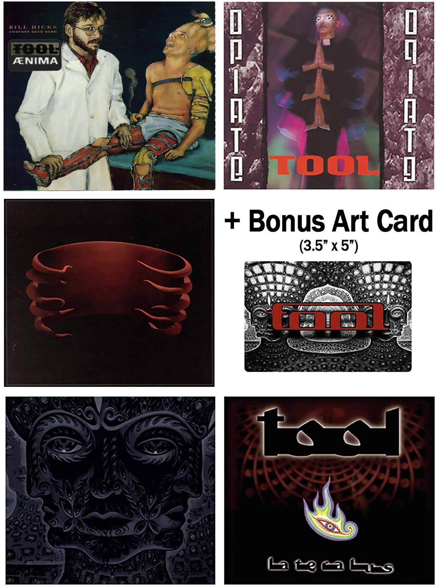Tool: Complete Studio Album CD Collection with Bonus Art Card by Volcano