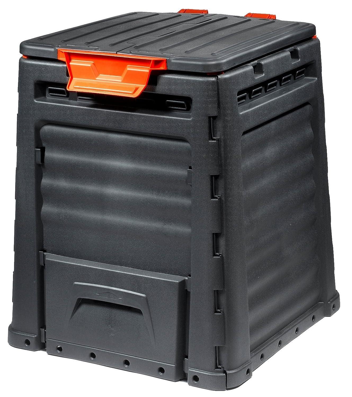 Keter - Compostador ECO, con capacidad de 320 L, Color gris oscuro