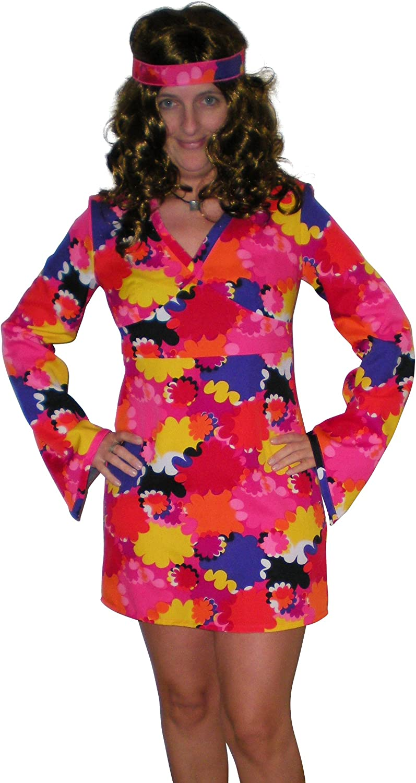 Disfraz de vestido, disfraz de vestido, vestido de los años 70 Gr ...