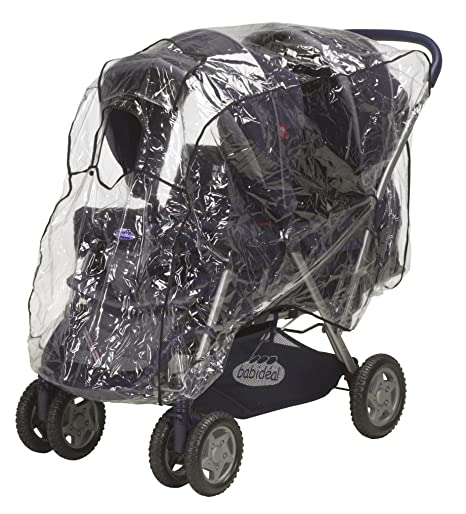 Playshoes 448961 universal Lluvia, – Funda impermeable para carrito con ventana de contacto, transparente