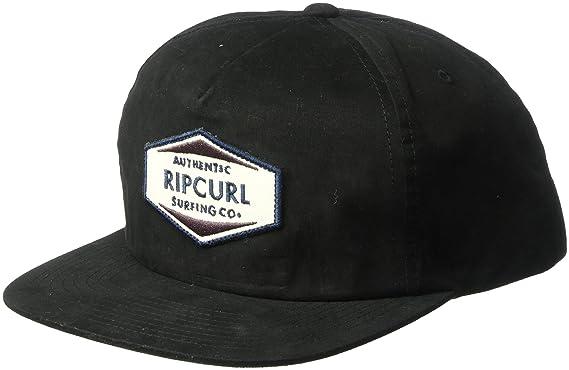 81c608d2 Amazon.com: Rip Curl Men's Station Snapback, Black, 1SZ: Clothing