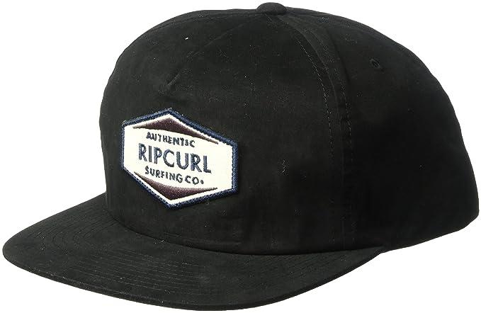76ba6c4dc Amazon.com: Rip Curl Men's Station Snapback, Black, 1SZ: Clothing