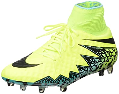 buy popular 737b0 9a166 Image Unavailable. Image not available for. Color  Nike Hypervenom Phantom II  FG - Volt ...