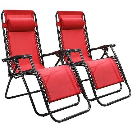 Amazon.com: Devoko - Silla reclinable para patio o patio ...