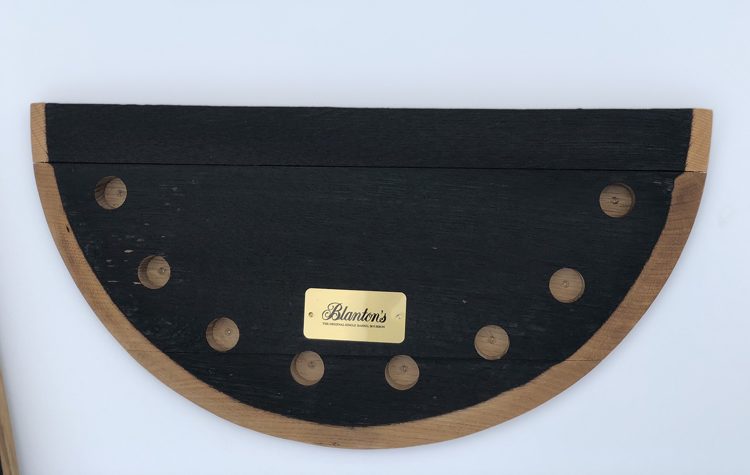 Blanton's Bourbon Half Barrel Head Stopper Display by Blanton's