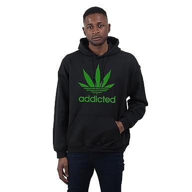Bang Tidy Clothing Sweat à capuche pour homme slogan addicted  Amazon.fr   Vêtements et accessoires ed87dc7622c