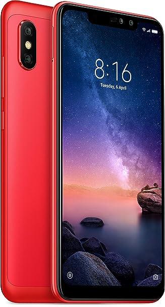 Renewed  Mi Redmi Note 6 Pro  Red, 64  GB, 4  GB RAM