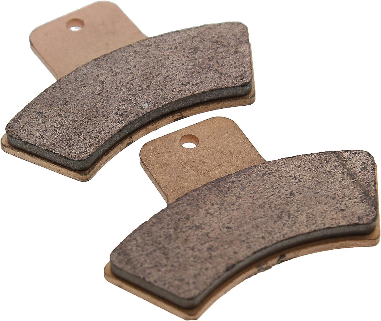 1999 2000 2001 Polaris 500 Magnum Rear Severe Duty Sintered Metal Brake Pads