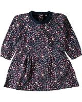 name it mini Mädchen Shirt-Kleid, Jalima in dress blues mit Blumennmuster