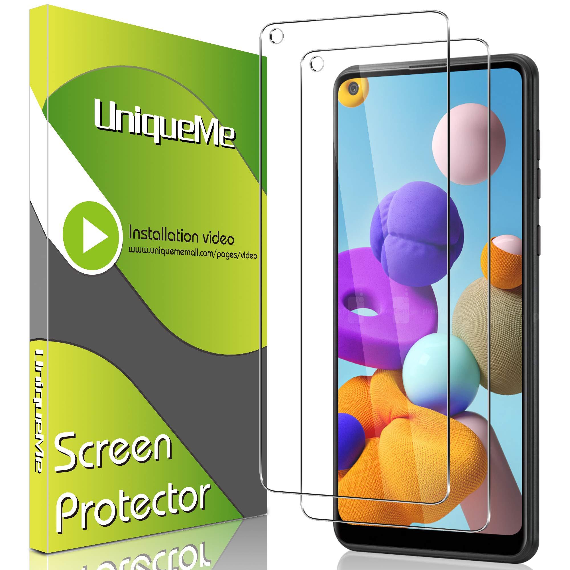 Vidrio templado para Samsung A21 [2un.] UniqueMe