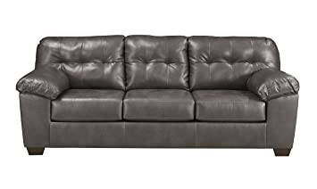 Signature Design by Ashley 2010238 Alliston Sofas, Gray, Gray