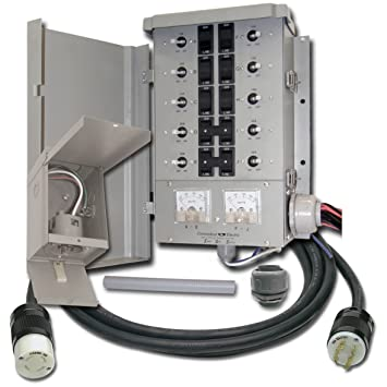 connecticut electric egs107501g2kit emergen 10 circuit transfer Switch Socket Diagram connecticut electric egs107501g2kit emergen 10 circuit transfer switch kit generator transfer switches amazon com