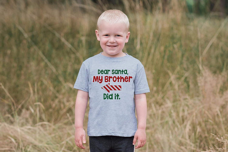 7 ate 9 Apparel Funny Kids Santa Christmas T-Shirt